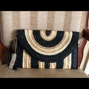 Handbags - Straw Clutch Bag/Purse
